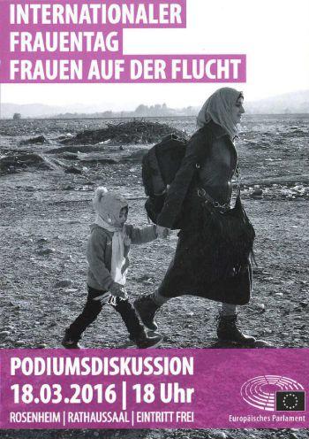Weiterlesen: Podiums Diskussion Frauen auf der Flucht